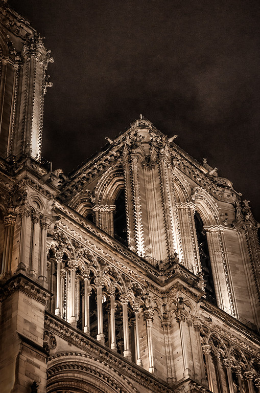 The Notre Dame bell towers